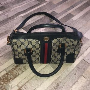 Authentic Gucci Vintage Boston doctor bag